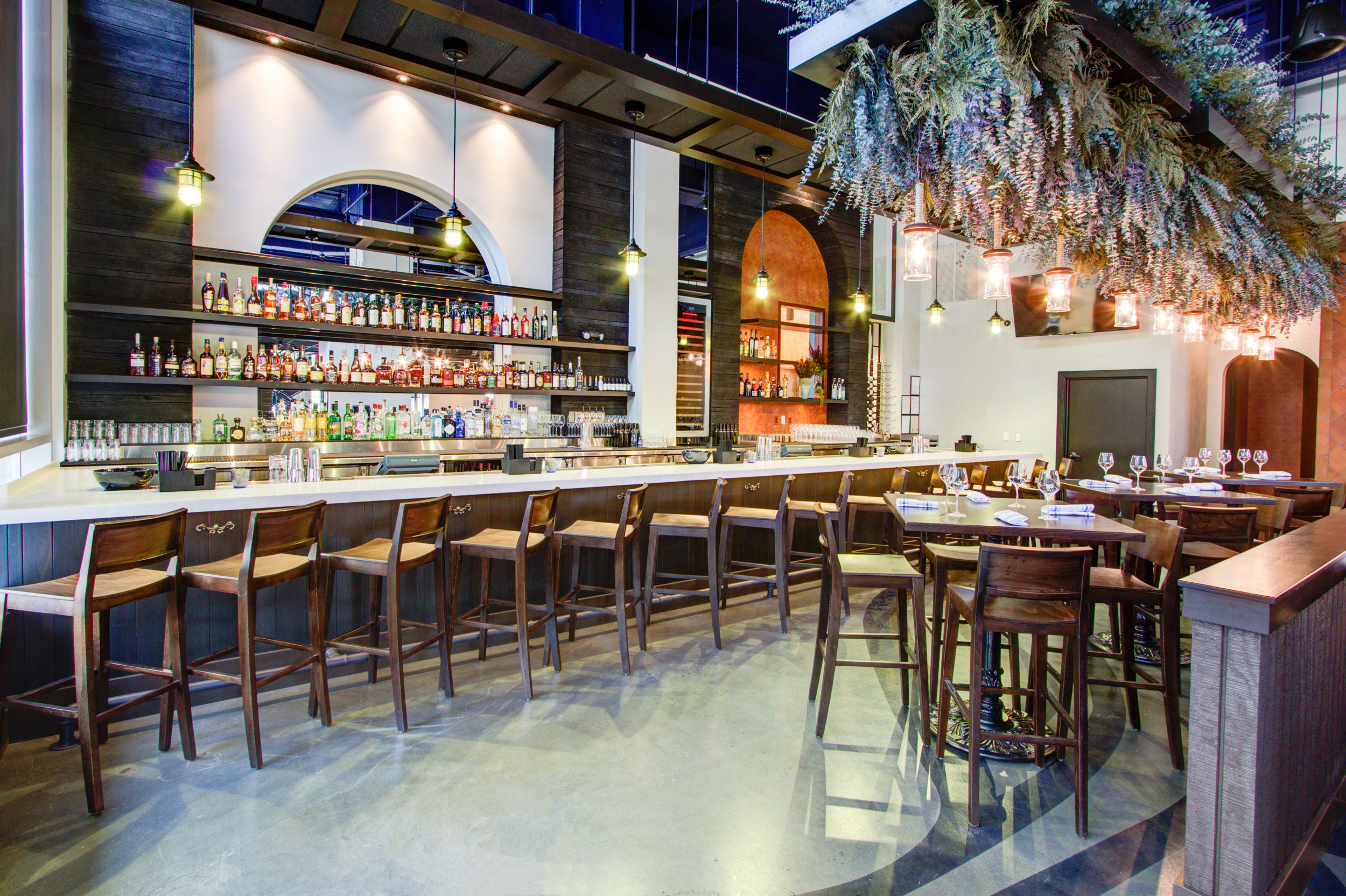 Kapnos Taverna Built by Hospitality Construction Services