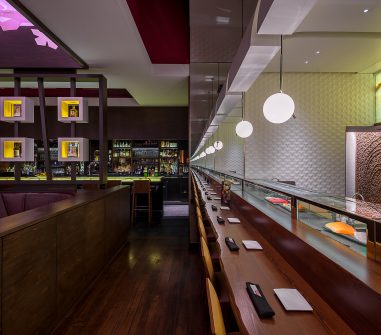 Raku Restaurant General Contractor Built by Hospitality Construction Services