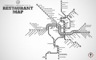 DC Restaurant Map